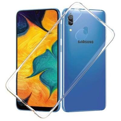 Силиконовый чехол для смартфонов Samsung Galaxy A (A01 Core, A01, A10, A11, A20, A20s, A21s, A30, A30s, A31, A40, A41, A50, A50s, A51, A70, A71, A80) прозрачный