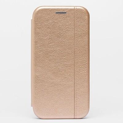 Чехол-книжка для смартфонов Samsung Galaxy Note (9, 10, 10+, 10 Lite, 20, 20 Ultra) золотой