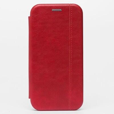 Чехол-книжка для смартфонов Samsung Galaxy Note (9, 10, 10+, 10 Lite, 20, 20 Ultra) красный