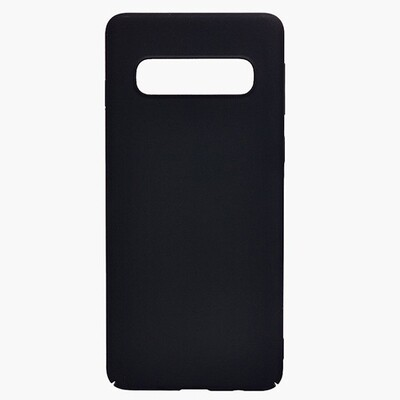 Чехол-накладка с покрытием soft-touch для смартфонов Samsung Galaxy S (S8, S8+, S9, S9+, S10e, S10, S10+, S10 Lite, S20, S20+, S20 Ultra) черный