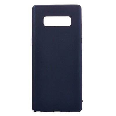Чехол-накладка с покрытием soft-touch для смартфонов Samsung Galaxy Note (9, 10, 10+, 10 Lite, 20, 20 Ultra) синий