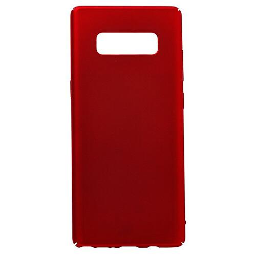 Чехол-накладка с покрытием soft-touch для смартфонов Samsung Galaxy Note (9, 10, 10+, 10 Lite, 20, 20 Ultra) красный