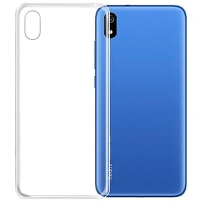 Силиконовый чехол для смартфонов Xiaomi Redmi (Go, 6A, 7A, 8A, 9A, 6, 7, 8, 9, S2) прозрачный