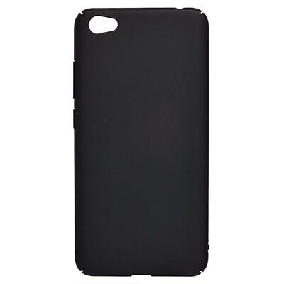 Чехол-накладка с покрытием soft-touch для смартфонов Xiaomi Redmi (Go, 6A, 7A, 8A, 9A, 6, 7, 8, 9, S2) черный