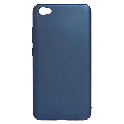 Чехол-накладка с покрытием soft-touch для смартфонов Xiaomi Redmi (Go, 6A, 7A, 8A, 9A, 6, 7, 8, 9, S2) синий