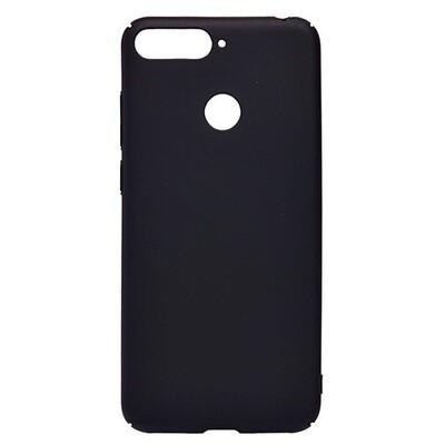 Чехол-накладка с покрытием soft-touch для смартфонов Honor 7A, 7A Pro, 7A Prime, 7С, 7S, 8A, 8A Pro, 8C, 8S, 8S Prime черный