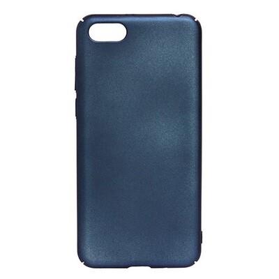 Чехол-накладка с покрытием soft-touch для смартфонов Honor 7A, 7A Pro, 7A Prime, 7С, 7S, 8A, 8A Pro, 8C, 8S, 8S Prime синий