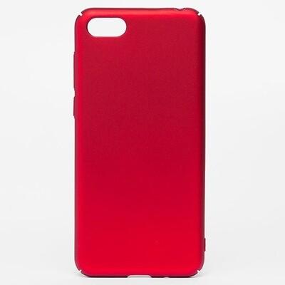 Чехол-накладка с покрытием soft-touch для смартфонов Honor 7A, 7A Pro, 7A Prime, 7С, 7S, 8A, 8A Pro, 8C, 8S, 8S Prime красный