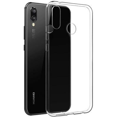 Силиконовый чехол для смартфонов Honor 8X, 9A, 9C, 9S, 9X, 9X Premium прозрачный