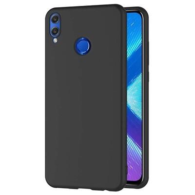 Силиконовый чехол для смартфонов Honor 8X, 9A, 9C, 9X, 9S, 9X Premium черный