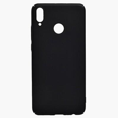 Чехол-накладка с покрытием soft-touch для смартфонов Honor 8X, 9A, 9C, 9S, 9X, 9X Premium черный