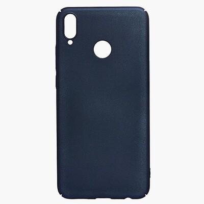 Чехол-накладка с покрытием soft-touch для смартфонов Honor 8X, 9A, 9C, 9S, 9X, 9X Premium синий