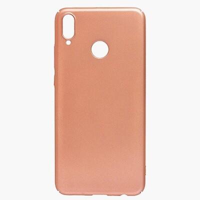 Чехол-накладка с покрытием soft-touch для смартфонов Honor 8X, 9A, 9C, 9S, 9X, 9X Premium золотой