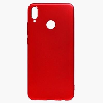 Чехол-накладка с покрытием soft-touch для смартфонов Honor 8X, 9A, 9C, 9S, 9X, 9X Premium красный