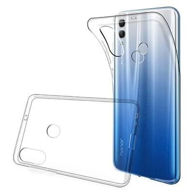 Силиконовый чехол для смартфонов Honor 10, 10 Lite, 10i прозрачный