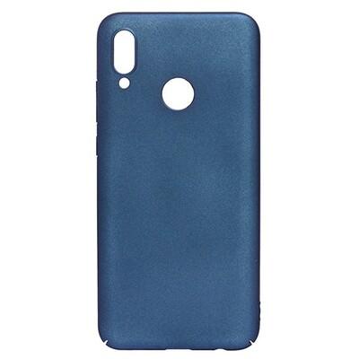 Чехол-накладка с покрытием soft-touch для смартфонов Honor 10, 10 Lite, 10i синий