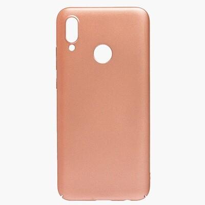 Чехол-накладка с покрытием soft-touch для смартфонов Honor 10, 10 Lite, 10i золотой