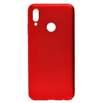 Чехол-накладка с покрытием soft-touch для смартфонов Honor 10, 10 Lite, 10i красный