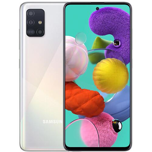 Смартфон Samsung Galaxy A51 6/128GB RUS (белый)