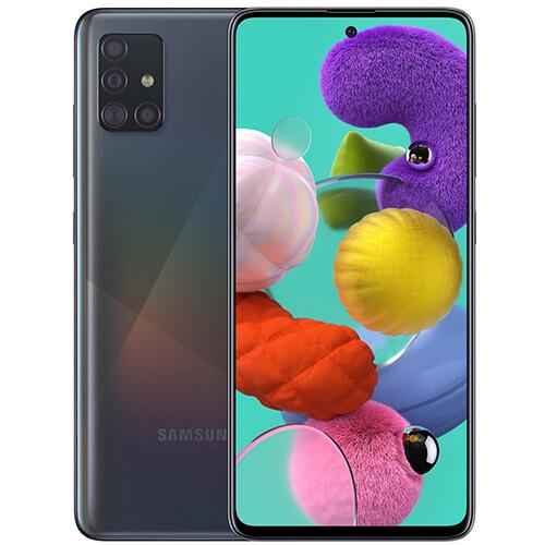 Смартфон Samsung Galaxy A51 6/128GB RUS (черный)