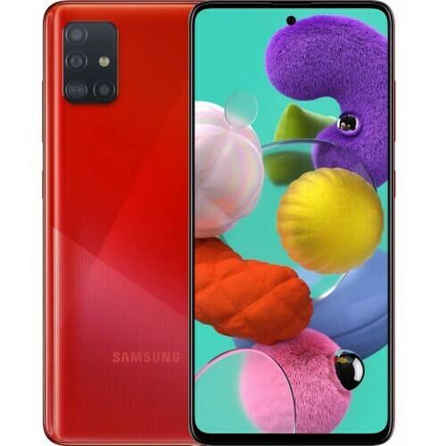 Смартфон Samsung Galaxy A51 64GB RUS (красный)