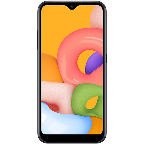 Смартфон Samsung Galaxy A01 RUS (черный)