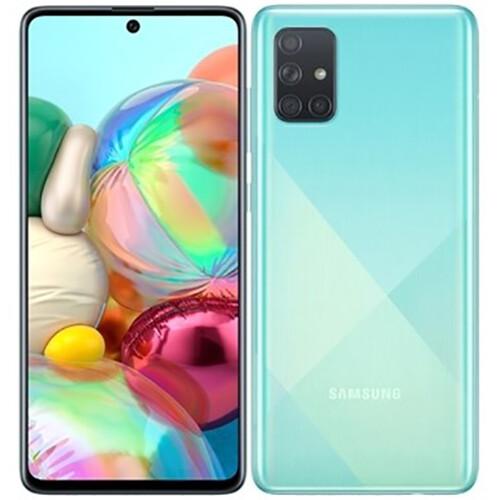 Смартфон Samsung Galaxy A71 6/128GB RUS (голубой)