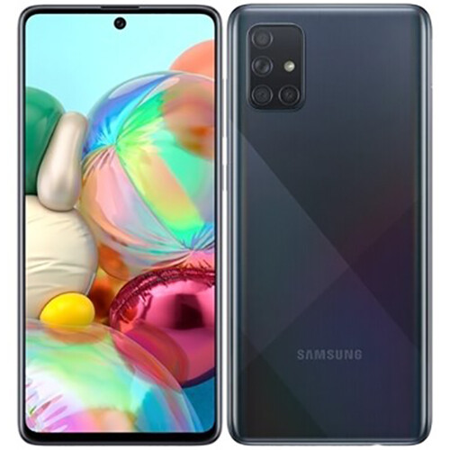 Смартфон Samsung Galaxy A71 6/128GB RUS (черный)