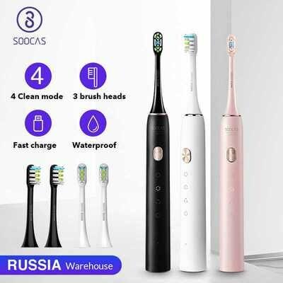 Зубная щетка Xiaomi Soocas X3U (black)