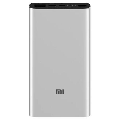 Внешний аккумулятор Xiaomi Mi Power Bank 3 10000 mAh (PLM12ZM) (серебристый)