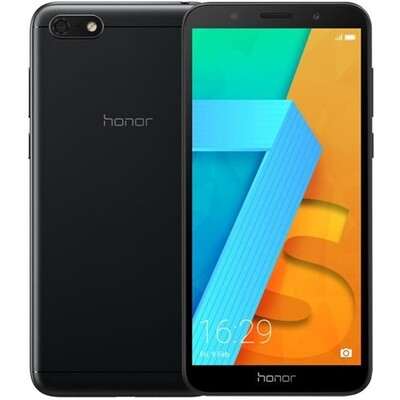 Смартфон Honor 7S 1/16Gb RUS (черный)