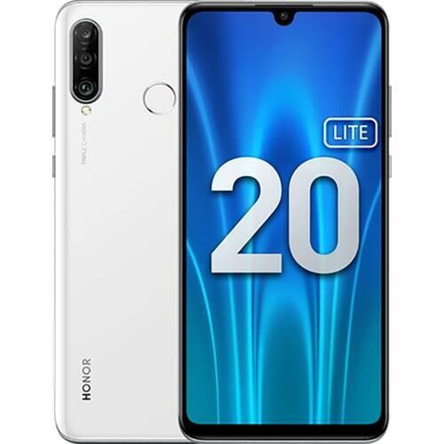 Смартфон Honor 20 Lite 4/128GB RUS (ледяной белый)