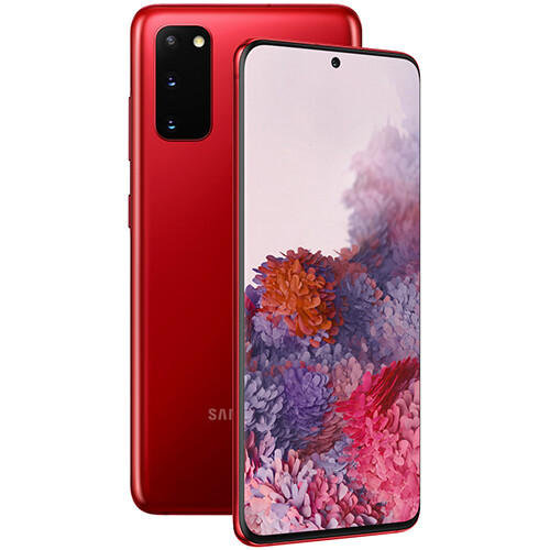Смартфон Samsung Galaxy S20 8/128GB RUS (красный)