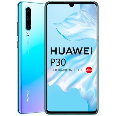 Смартфон Huawei P30 6/128GB RUS (светло-голубой)