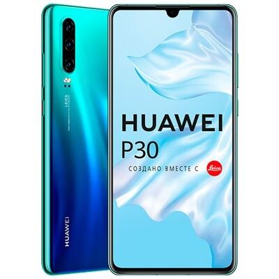 Смартфон Huawei P30 6/128GB RUS (северное сияние)