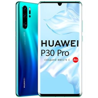 Смартфон Huawei P30 Pro 8/256GB RUS (северное сияние)