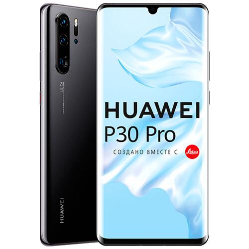 Смартфон Huawei P30 Pro 8/256GB RUS (черный)