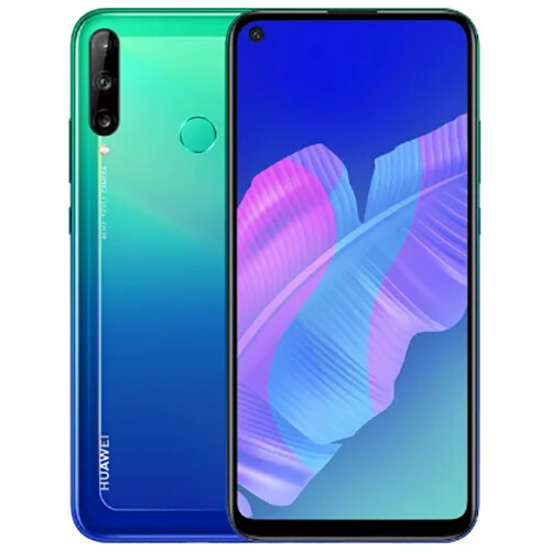 Смартфон Huawei P40 Lite E 4/64GB RUS (ярко-голубой)