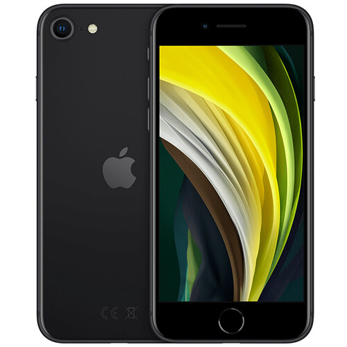 Смартфон Apple iPhone SE (2020) 64GB RUS (черный)