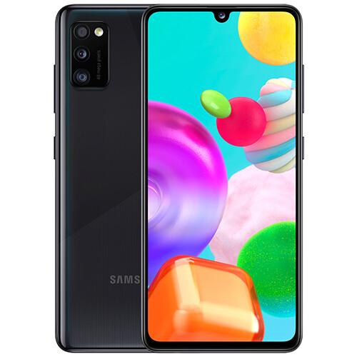 Смартфон Samsung Galaxy A41 4/64GB RUS (черный)