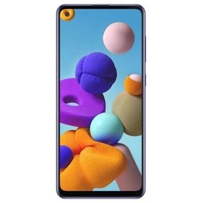 Смартфон Samsung Galaxy A21s 3/32GB RUS (синий)