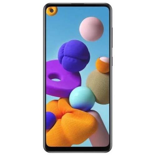 Смартфон Samsung Galaxy A21s 4/64GB RUS (черный)