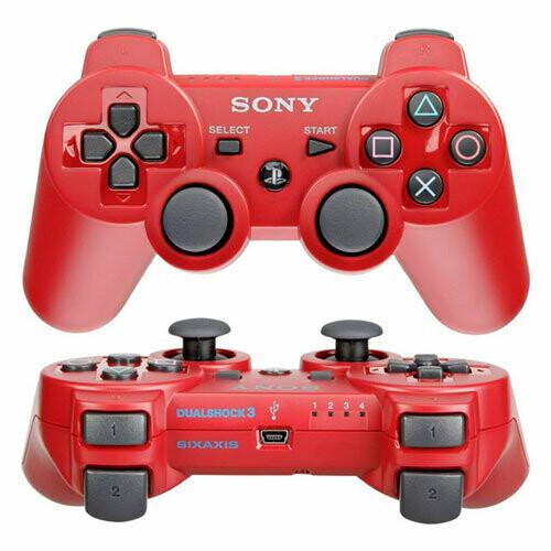 Джойстик Sony Dualshock 3 (красный)