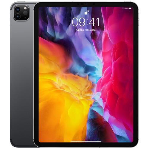 Планшет Apple iPad Pro 11 (2020) 256GB Wi-Fi + Cellular RUS (space gray)