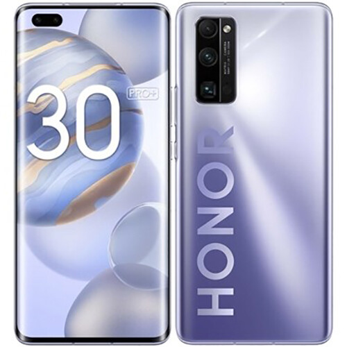 Смартфон Honor 30 Pro+ 8/256GB RUS (титановый серебристый)