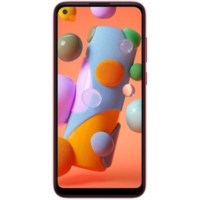 Смартфон Samsung Galaxy A11 RUS (красный)
