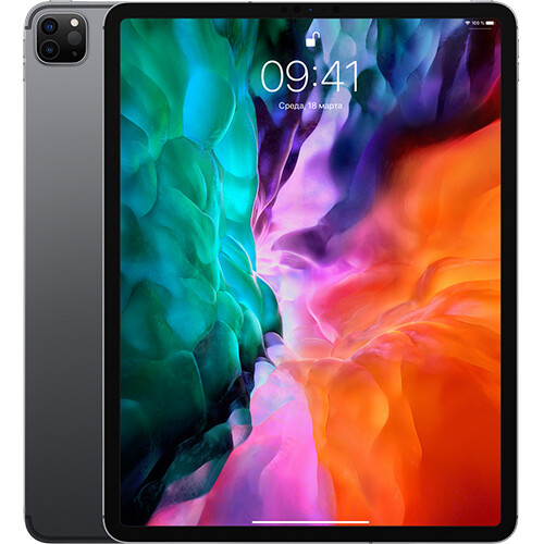 Планшет Apple iPad Pro 12.9 (2020) 128Gb Wi-Fi RUS (space gray)