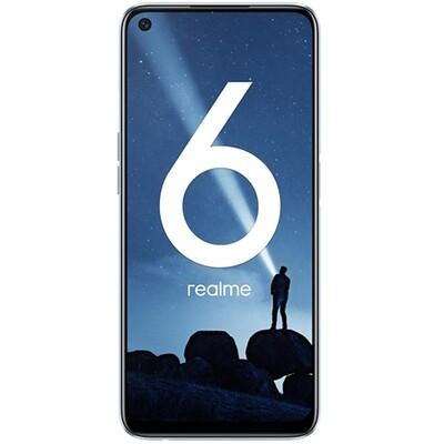 Смартфон realme 6 4/128GB RUS (белая комета)