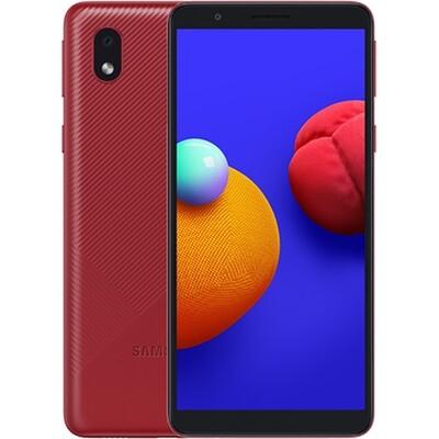 Смартфон Samsung Galaxy A01 Core RUS (красный)