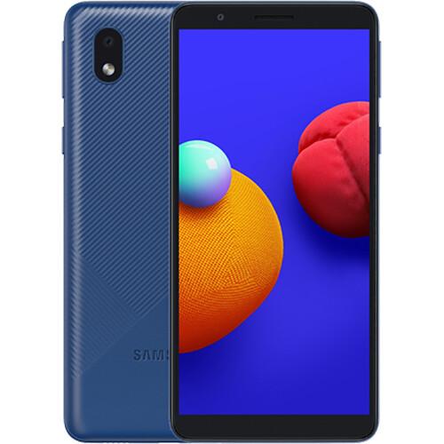 Смартфон Samsung Galaxy A01 Core RUS (синий)